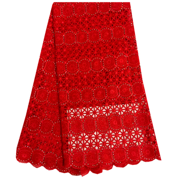 Selling African Lace Fabric Nigerian Red French Fabric Swiss Voile Lace 2016 African Tulle Lace Fabric